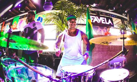 Favela 'on the beach'