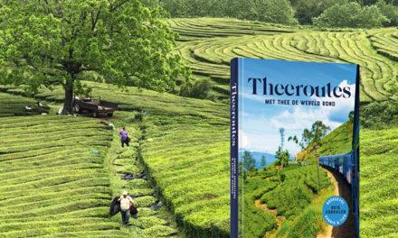 Boek voor thee- en reisliefhebbers